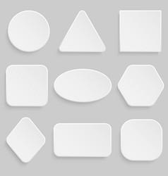 button bannerr set vector image