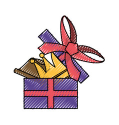 Gift box present vector