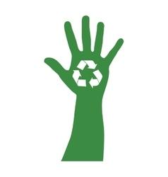 recycle arrows icon image vector image