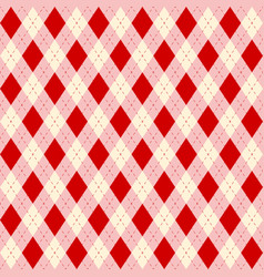 seamless color rhombuses pattern vector image