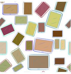 Seamless conceptual background handphone or vector