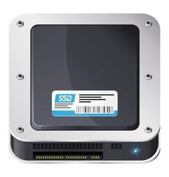 SSD icon vector
