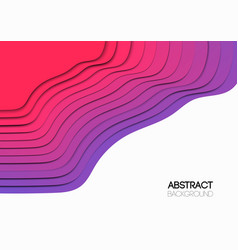 the abstract background overlap purple waves vector image