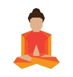 Yoga asans pose vector image vector image