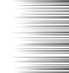 speed lines1 vector image vector image