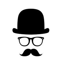 Gentleman portrait vector