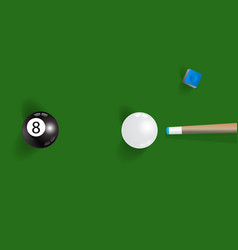 pool table background with white and black vector image