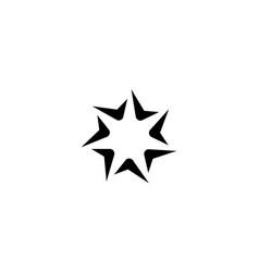 spark logo design concept vector image