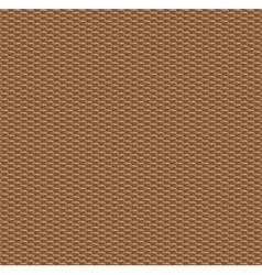 Wood weaved texture vector image