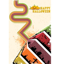 Happy Halloween Backgroun vector image vector image