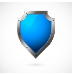 Shield icon isolated vector image vector image