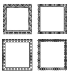 Set of frame vector image