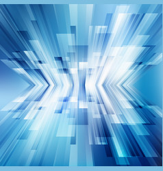 Abstract geometric diagonal blue lines overlap vector