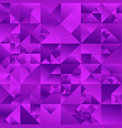 Abstract geometrical polygonal purple triangle vector