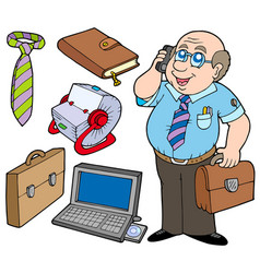 business collection vector image