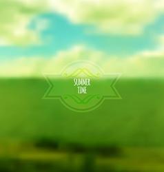Corporate website design Summer Time vector image