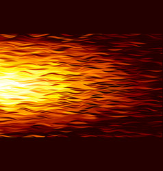 fire flame abstract wave background vector image