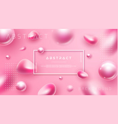luxury pink background for cosmetic posters vector image
