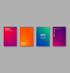Minimal cover design vector