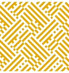 Op art seamless geometric striped pattern vector