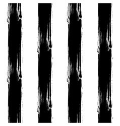 Painted Striped Black Pattern vector
