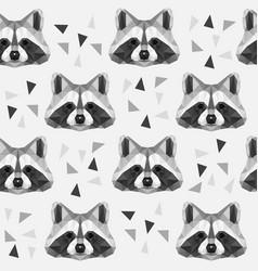 racoon vector image
