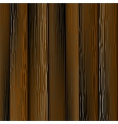 Dark Wood Planks vector image