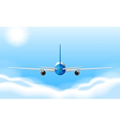 A jetplane vector image