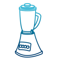 blender kitchen appliance vector image