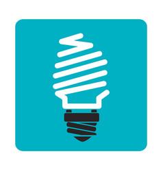 Economy bulb isolated icon vector