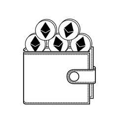 Ethereum wallet vector