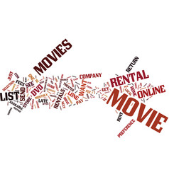 for the movie watcher who can t get enough text vector image