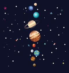 Parade planets vector