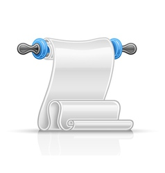 Paper scroll vector image vector image