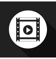 video player design vector image vector image