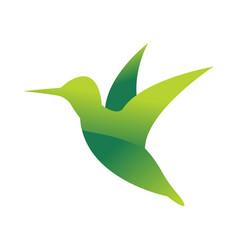 wild bird animal jungle pet logo silhouette of vector image vector image
