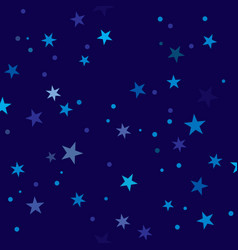 starry night pattern swatch vector image