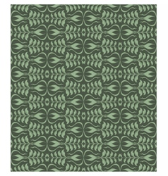Abstract geometric floral classic pattern vector
