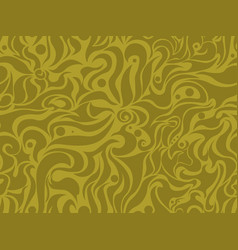 Abstract seamless yellow background vector