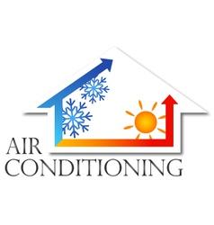 Air conditioner design vector image