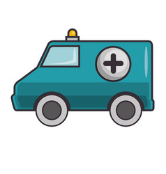 ambulance icon image vector image