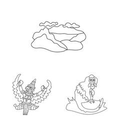 Design balinese and caribbean symbol vector