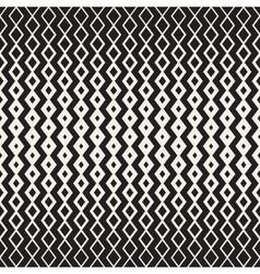 Hand Drawn Horizontal Wavy ZigZag Lines vector image