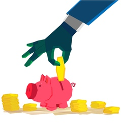 investment pigmoneybox preview vector image