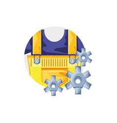 Overall uniform construction in frame circular vector