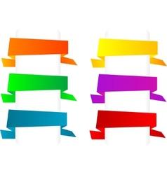 paper origami speech vector image