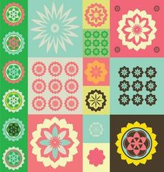 Life flower ornamental pattern vector image vector image