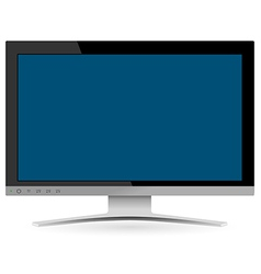 LCD Television vector image vector image