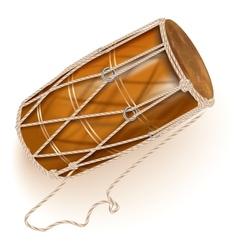 Traditional chau gong tam-tam vector image vector image