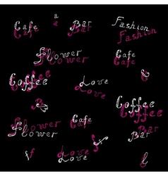 words vector image
